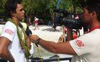 Steeve Teihotaata vainqueur de la Arii Mataniti Race 2012