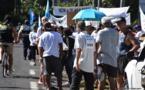 La Route du sud se politise à Paea