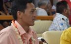 L'élu Tahoera'a James Heaux sur la liste de Minarii Galenon