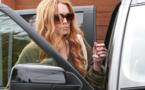 Lindsay Lohan à l'hôpital après avoir encastré sa Porsche dans un camion
