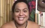 Confinée, Hinatea Colombani garde le sourire