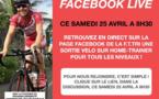 Une sortie vélo sur home-trainer en Facebook Live