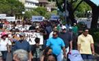 Papeete : Plus de 2.500 personnes se joignent à la marche contre la hausse des carburants (màj)