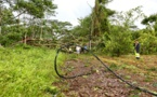Des habitants de Afaahiti toujours privés d'électricité