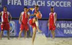 Football: 4 TIKI TOA en Suisse avec Air Tahiti Nui