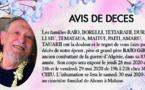 AVIS DE DECES - FAMILLE RAIO