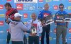 Hossegor: Kelly Slater remporte la Quiksliver Pro France,  Michel Bourez se défend jusqu'au round 5