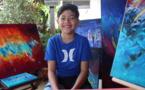 Page enfant : Teora, l'émotion à fleur de toiles