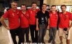 Trans-tahitienne : La team de l'équipe de France de triathlon est arrivée