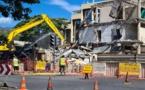 L'immeuble Juventin démoli