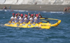 Shell Va'a survole la Vodafone Channel Race