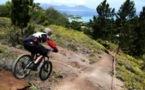 VTT descente : Tehei Claret gagne la deuxième manche !
