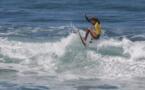 La relève du surf en action à Taharuu