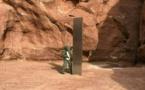 """Etats-Unis : un mystérieux """"monolithe de métal"""" dans le désert alimente les fantasmes"""