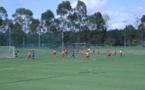Football: Tahiti Nui s'incline 4-0 devant Sydney