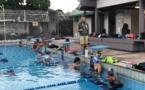 Stage et compétition en métropole pour les nageurs du CAF