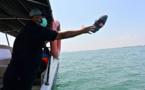 La dérive des déchets plastiques suivie par satellite pour des océans plus propres