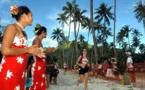 Le 25ème Tahiti Moorea Marathon sur la ligne de départ