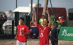 Beach Soccer: Les tiki toa remportent leur premier match contre les Pays-bas 5 buts à 4
