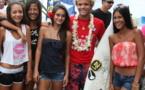 Surf Tahiti Pro Junior : William Aliotti s'impose face à Enrique Ariitu