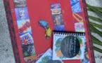 Page enfant : Le jeu du patrimoine au Musée des îles traduit en reo