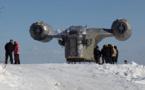 """Des fans russes de Star Wars reproduisent un vaisseau du """"Mandalorian"""""""