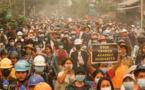 Birmanie: les manifestations continuent après le week-end le plus sanglant depuis le coup d'Etat