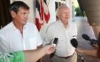 Gaston Flosse annonce une résolution demandant un référendum d'autodétermination