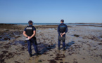 Cinq Robinsons sur un îlot échappent aux gendarmes grâce à la marée montante