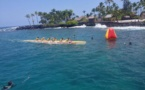 Hawaï: Shell Vodafone Va'a, vainqueur de la OLAMAU RACE 2013