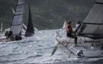 Sur la Tahiti Pearl Regatta, des voiliers agiles sous le vent