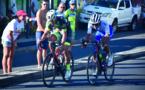 Hervé Arcade devance au sprint Heiarii Manutahi au GP de Arue