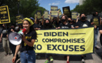 """Biden salue les """"bonnes nouvelles"""" pour l'emploi, malgré une situation en demi-teinte"""