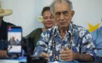 Nucléaire : Oscar Temaru réclame l'arbitrage de l'Onu