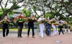 À la mémoire des morts en Indochine