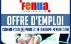 OFFRE D'EMPLOI POUR LE POSTE DE COMMERCIAL DU GROUPE FENUA COM