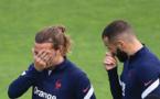 Euro: Griezmann et Benzema absents de l'entraînement à 5 jours de France-Allemagne