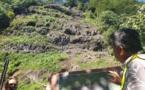 Occupation de la falaise de Tautira : Réponse le 28 juin