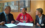 Natation : la fédération tahitienne renforce son partenariat avec la FFN