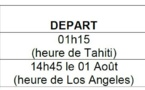 Air France modifie ses horaires de vol ( MAJ le 30/07 12:00)