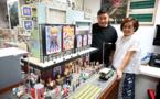 A Hong Kong, des modélistes reproduisent la ville d'antan en miniature