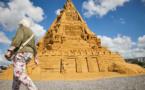 Le plus haut château de sable au monde construit au Danemark