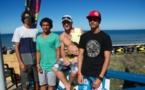 Soorutz Lacanau Pro- Steven Pierson jusqu'en quart de finale. Le Tahitien 3e du classement européen.