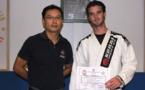 Judo:  Yannick Hartmann nouveau gradé 3e Dan.