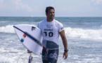 JO-2020/Surf: seul Michel Bourez a résisté aux huitièmes de finale