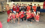 Boxe Muay Thai : séances d'entrainement assidues avec Taro Haoa à la salle de boxe de l'IJSPF à Taiarapu