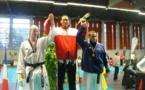 Taekwondo- Brandon Cheneson médaillé d'or au championnat Paca.