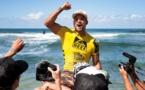 Surf-Reef Hawaiian Pro Hawaii. Michel Bourez  remporte l'épreuve pour la deuxième fois.