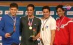 Championnats de France de Natation: Rahiti DE VOS remporte 2 médailles (Or et Bronze) lors de la 1ère journée