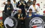Jiu-Jitsu-  Open Long Beach 2013. Belles performances de nos Tahitiens.